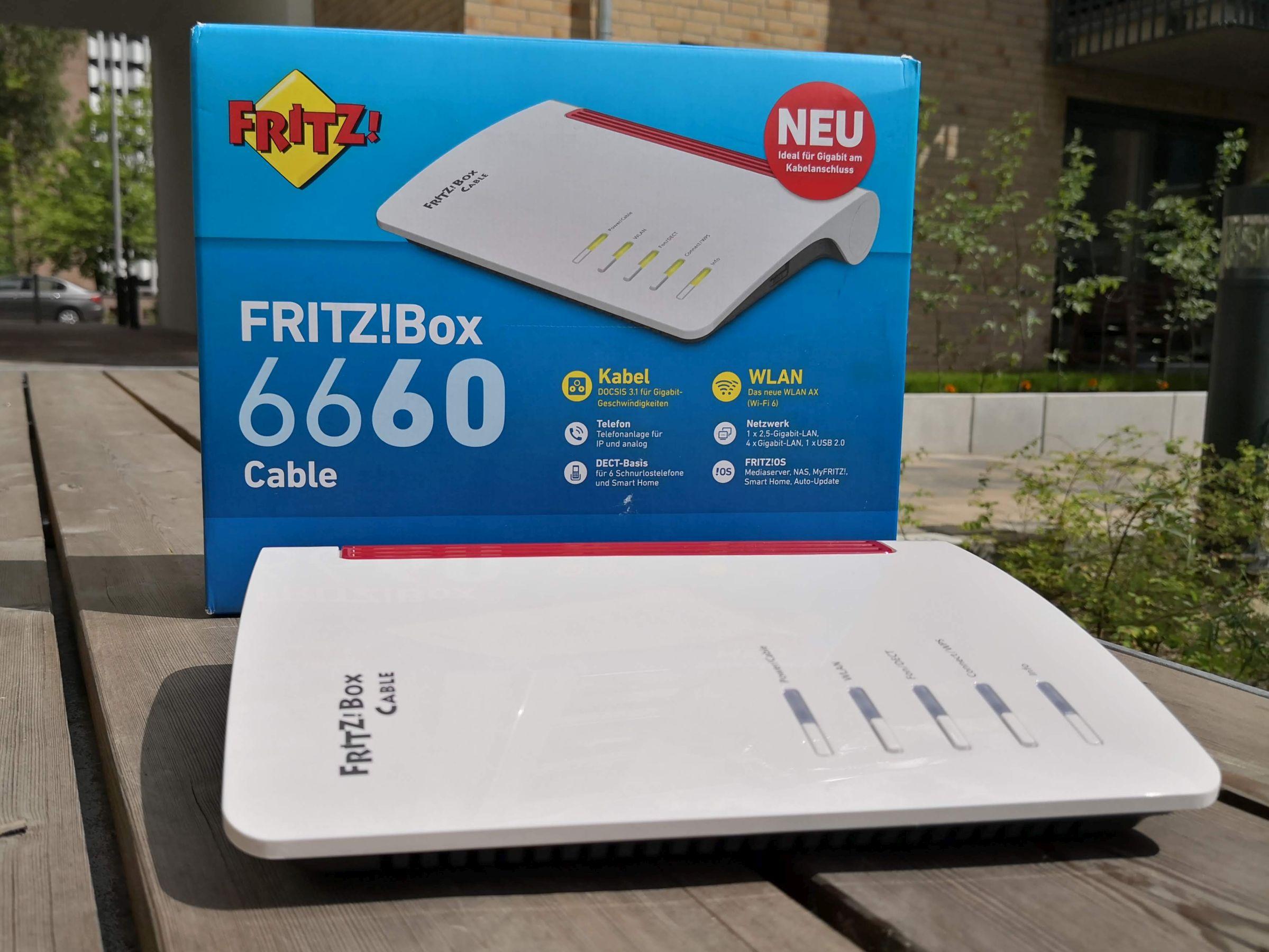 FritzBox 20 Cable im Test Das taugt die schnellste FritzBox der ...