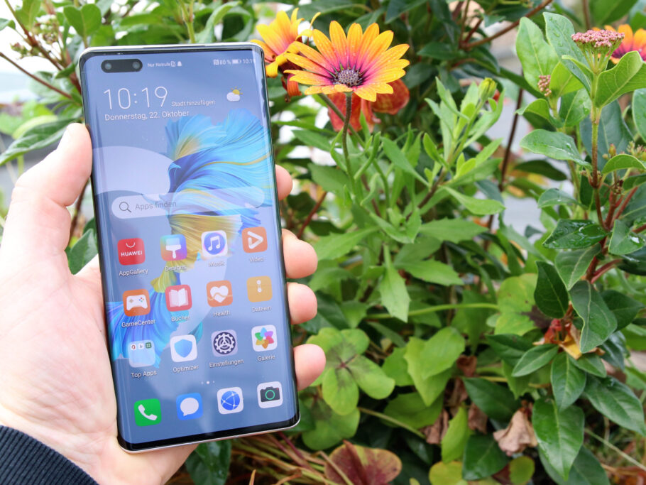 Front des Huawei Mate 40 Pro