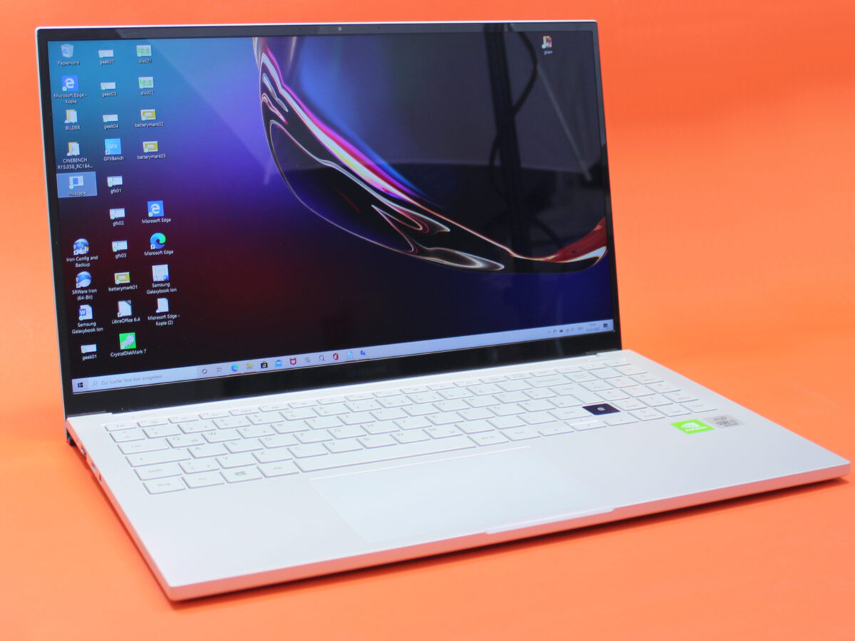 Front des Samsung Galaxy Book ION