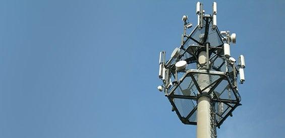 Funknetzmast von O2