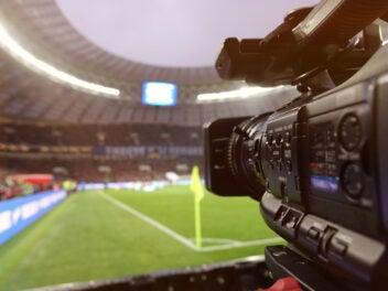 Symbolbild Kamera beim Fußball