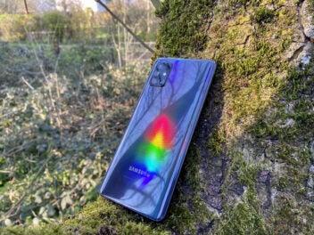 Rückseite des Galaxy A71