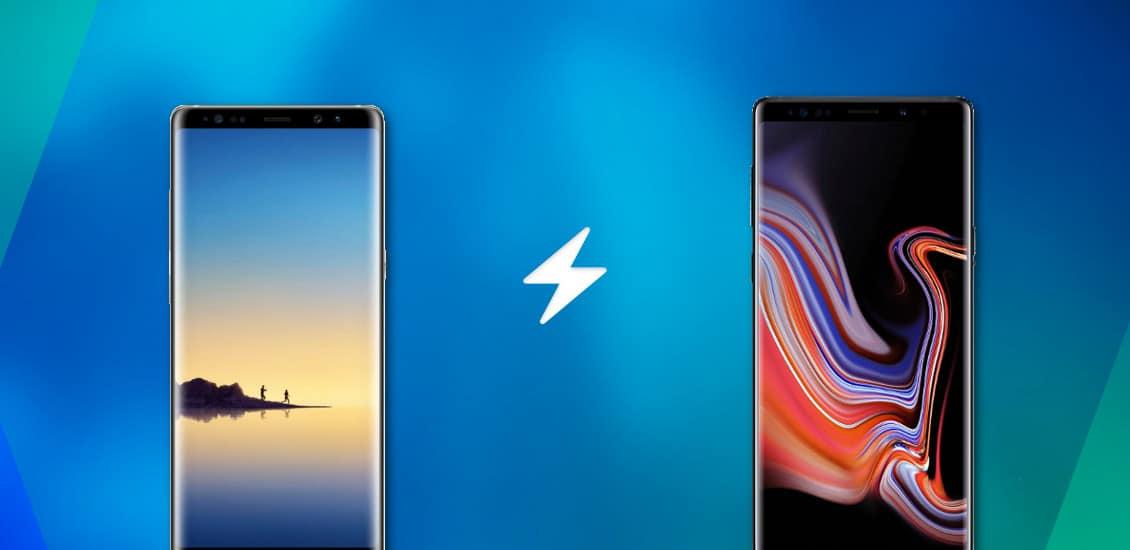 Galaxy Note 8 vs Galaxy Note 9
