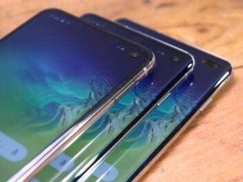 Samsung-Galaxy-S10-Modelle aufeinander