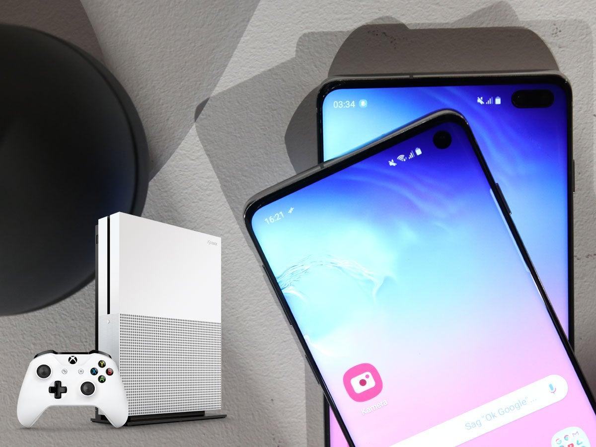 Samsung Galaxy S10, S10+ und Xbox