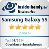 Galaxy S5 Testsiegel