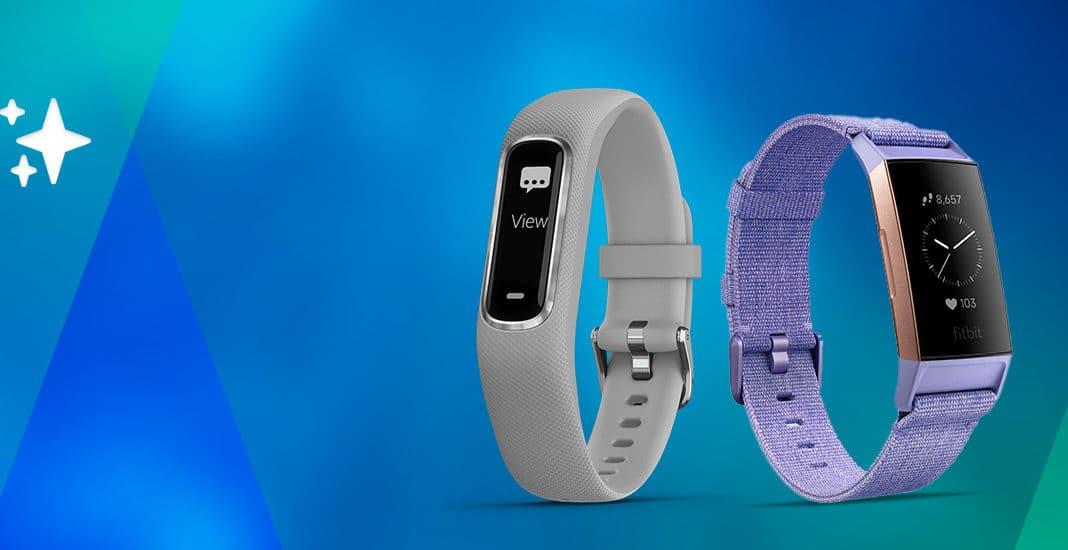 Garmin Vívosmart 4 und Fitbit Charge 3