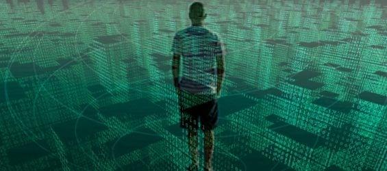 Gebäude aus Daten umgeben uns und werden gesammelt