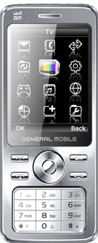 General Mobile DST 800 Datenblatt - Foto des General Mobile DST 800