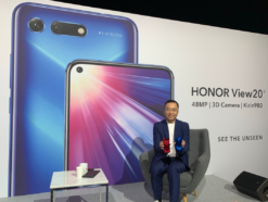 Honor View 20 mit George Zhao, CEO Honor