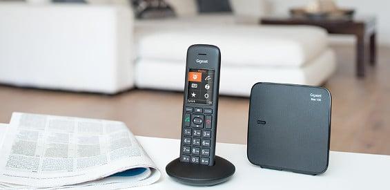 Gigaset stellt neue Festnetz-Telefone der C570-Familie vor.