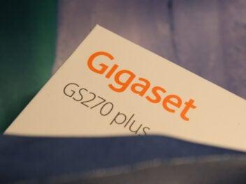 Verpackung des Gigaset GS270 Plus