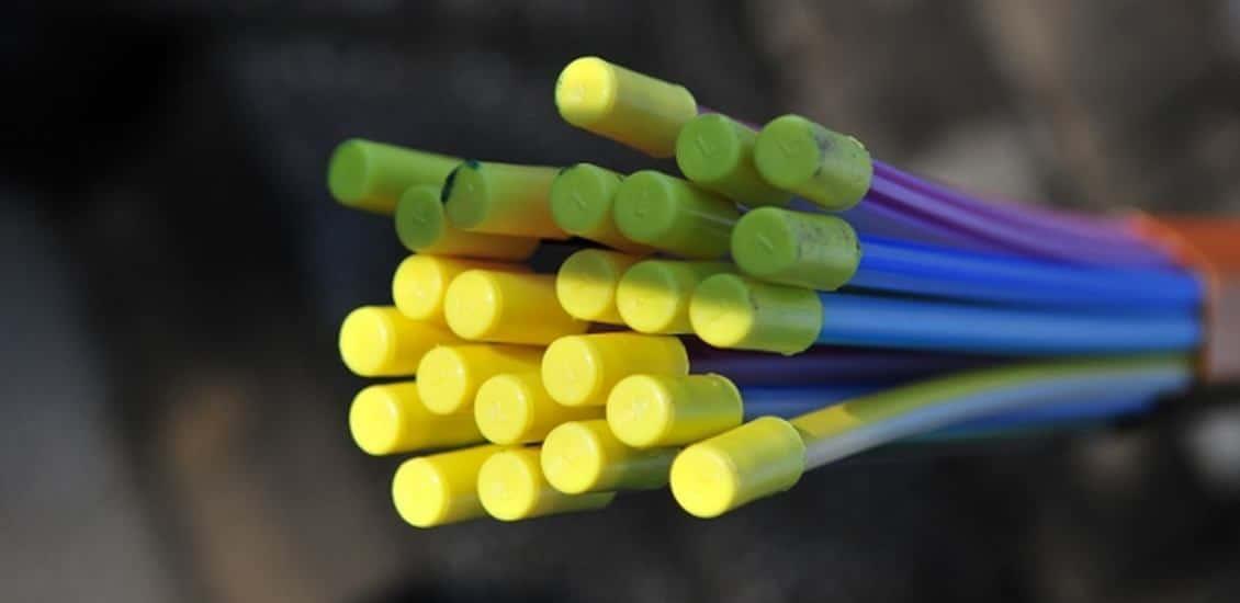 Glasfaser-Speedpipes für schnelles Internet