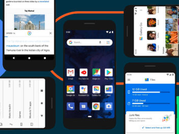Google Android Symbolbild mit Smartphones