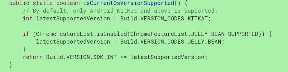 Google Chrome: Android-Unterstützung