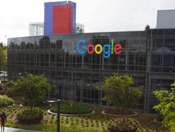 Googleplex, der Hauptsitz von Google in Mountain View, Kalifornien, USA