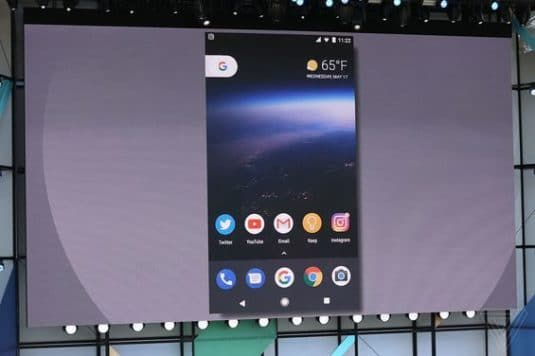 Notification Dots bei der Google I/O