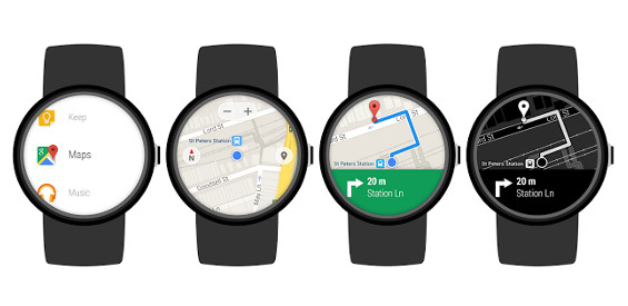 Google Maps für Android Wear
