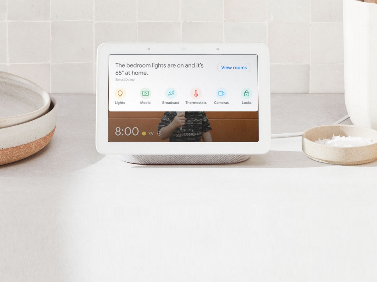 Googles smartes Display Nest Hub kommt nach Deutschland.