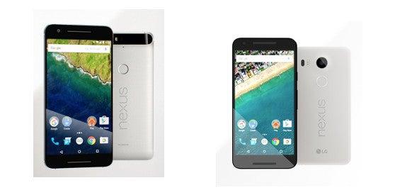 Google Nexus 5X und Nexus 6P vorgestellt