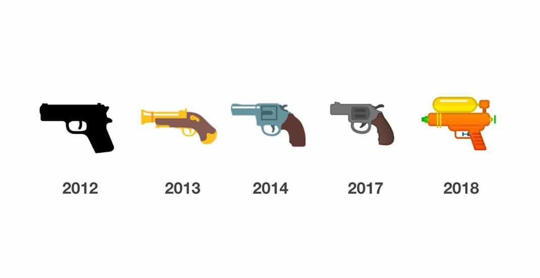 Google Pistolen-Emoji