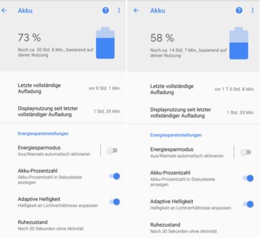 Google Pixel 2 XL Akku