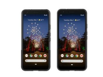 Google Pixel 3a und 3a XL Pressebild
