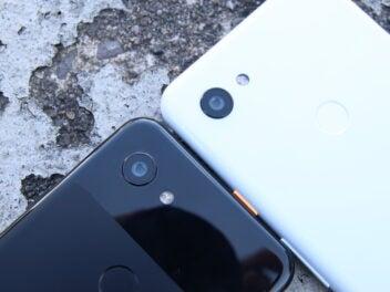 Google Pixel 3a XL und Pixel 3a Hauptkamera
