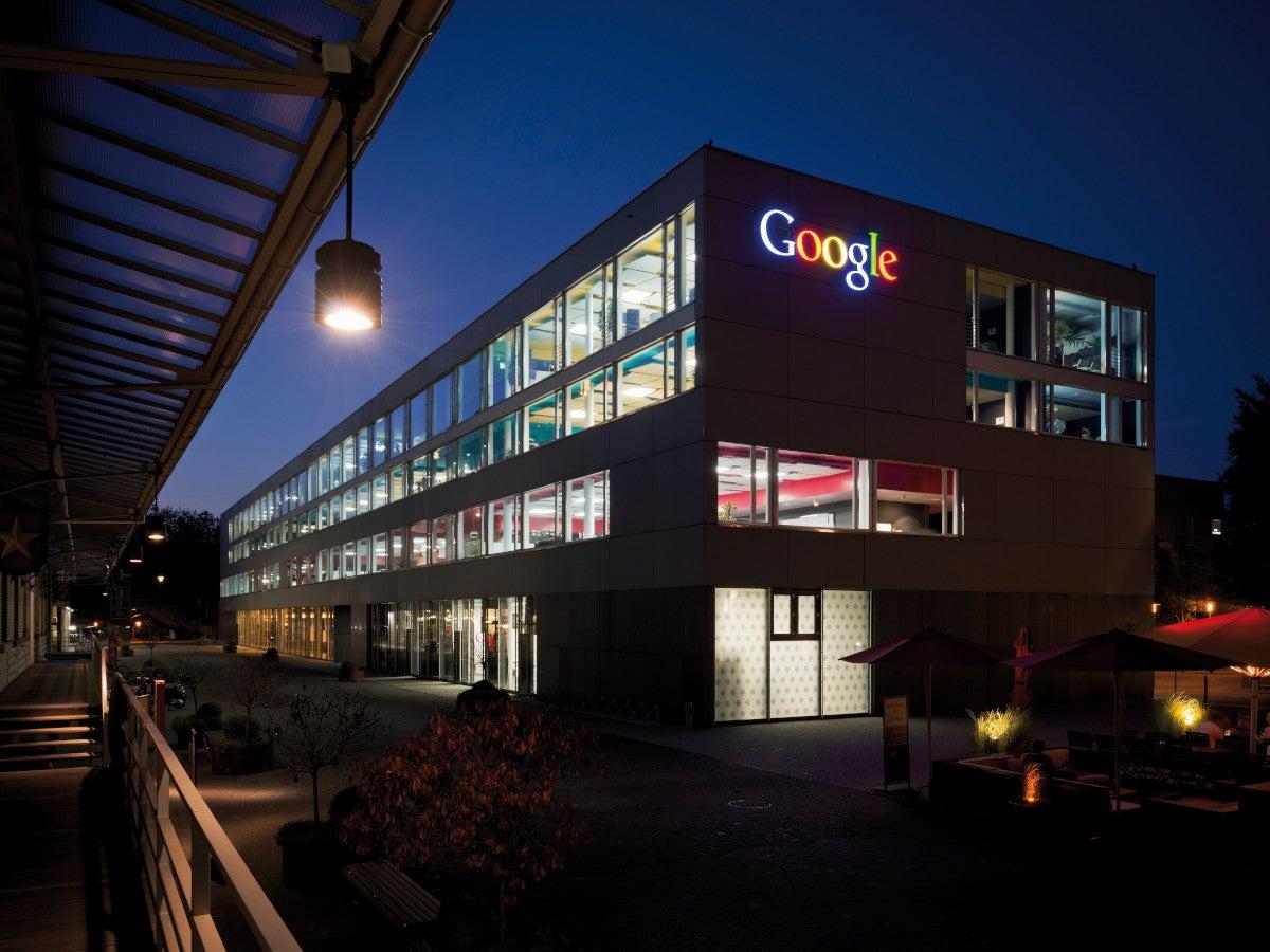 Google Zentrale in Zürich