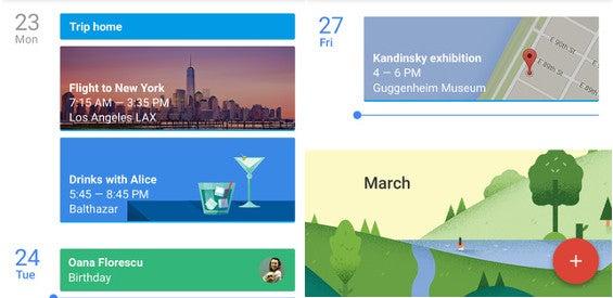 Google-Kalender für iOS
