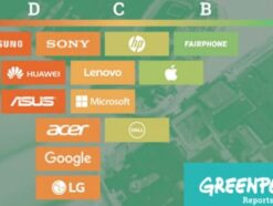 Guide to Greener Electronics Greenpeace Symbolbild