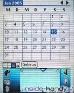 Hagenuk S200 - Kalender
