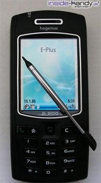 Hagenuk S200 - Stift auf dem Display