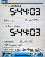 Hagenuk S200 - Weltuhr