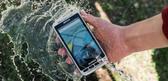 Handheld Nautiz X2 Outdoor-Smartphone