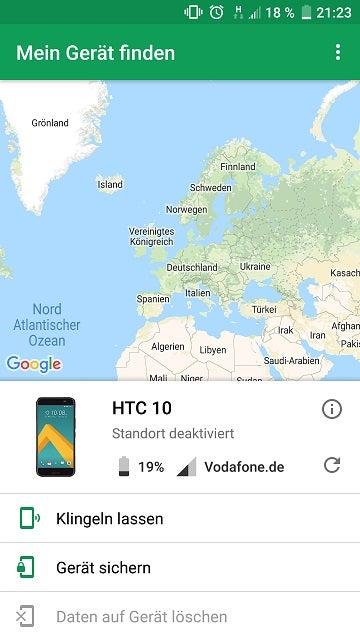 So können Nutzer ihr Handy finden.