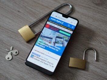 Smartphone Schutz