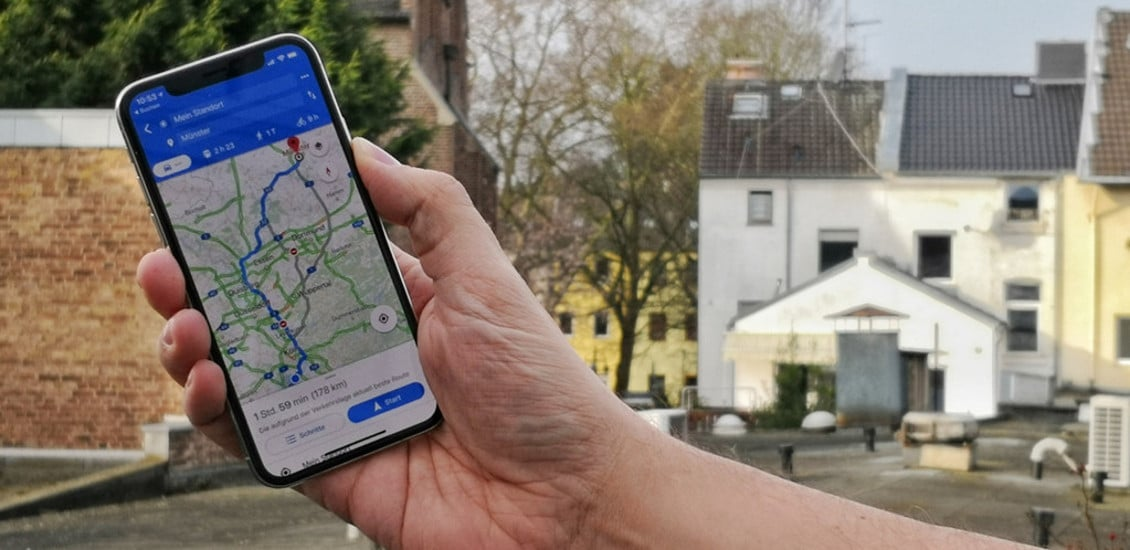 Smartphones sind auch moderne Navigationsgeräte.