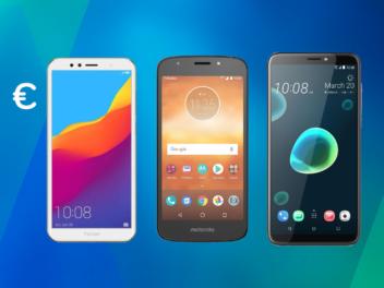 Die besten Handys bis 100 Euro Topnewsbild