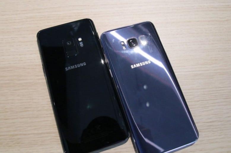 Handyvergleich Iphone 8 Und Samsung S9