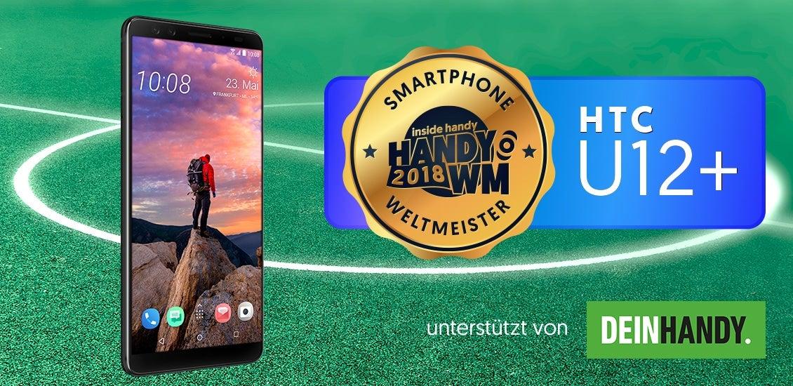 HTC U12+ – Smartphone Weltmeister 2018