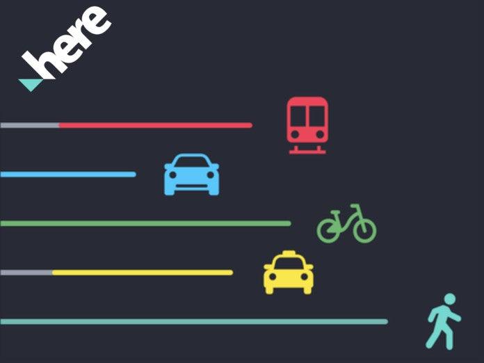 Here WeGo Navigations App fürs Handy