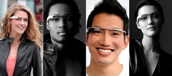 Hightech-Brille Computerbrille Project Glass von Google