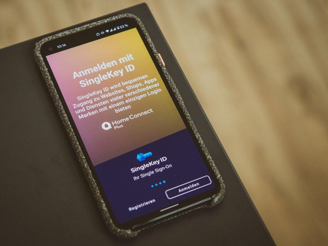Home Connect Plus App für Smart Home