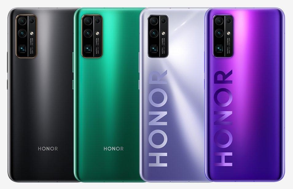 Beim Honor 30 hat der Käufer die Wahl zwischen vier Farben
