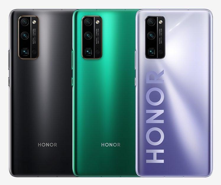Das Honor 30 Pro ist in drei Farben verfügbar