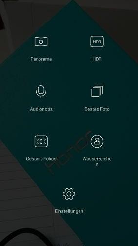 Honor 4x Kamera-Einstellung