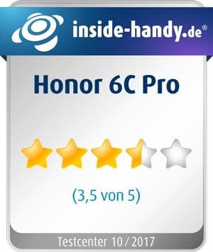 Honor 6C Pro im Test: 3,5 von 5 Sternen