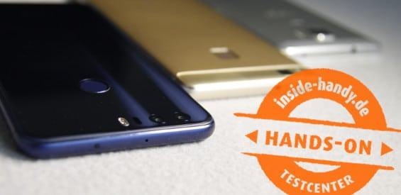 Honor 8, Honor 7 und Huawei P9 Lite
