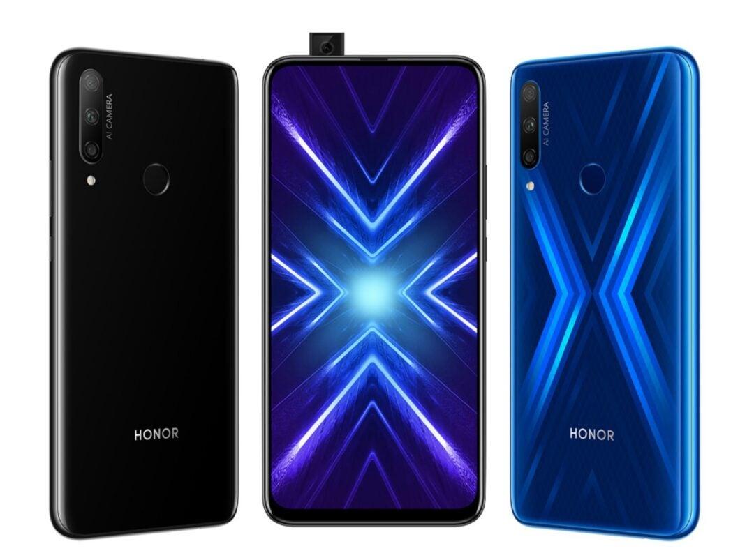 Das Honor 9X kommt in zwei Farben auf den Markt